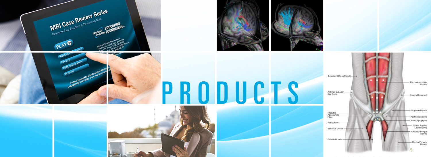 ProScan Education and Radiology CME Products